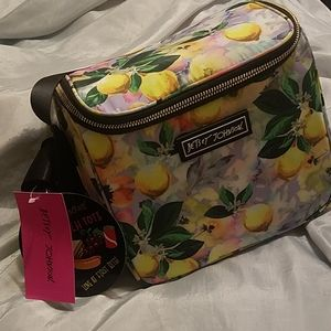 Betsey Johnson cube insulated lunch tote nwt